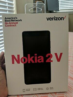 VERIZON NOKIA 2 V BRAND NEW PREPAID PHONE