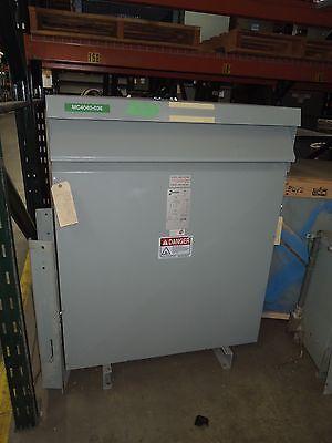 Hammond 150kva 480-115v 3ph Dry Type Transformer Used Electrically Ok