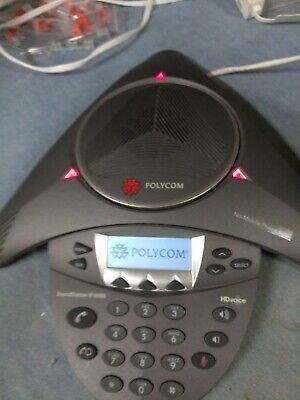 Polycom Soundstation Ip 6000 Voip Conference Phone 2201-15600-001 Poe Hd Voice