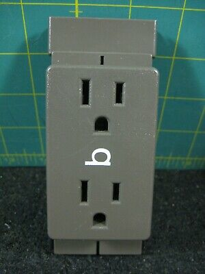 Herman Miller B - A1311.b Action Office Cubicle Wall Receptacle Outlet