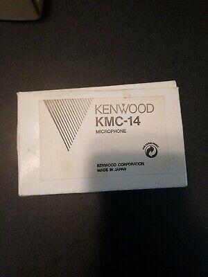 Genuine Oem 6-pin Microphone For Kenwood Mobile Radios Tk840 Tk740 - Kmc-14 Type
