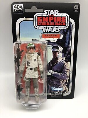 Star Wars 40th Anniversary ESB Rebel Soldier Hoth 6 inch - In Stock