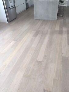 """Engineered white oak flooring, 6"""" random length 16-73"""""""