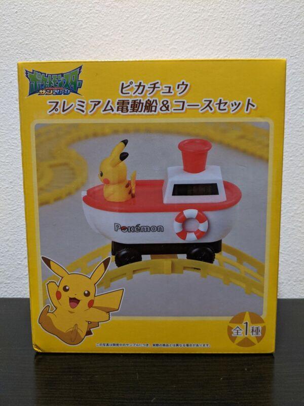 Sega Pokemon Sun & Moon Premium Electric Ship And Course Set