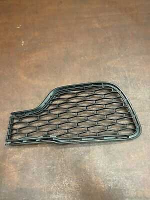 2014 Maserati Ghibli S Q4 Front Left Bumper Grill Grille Radiator Duct OEM