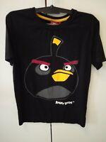 Kinder T-Shirt Angry Birds, schwarz, Gr. 158/164, mit Aufdruck Berlin - Spandau Vorschau