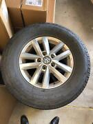 """Amarok 16"""" wheels with worn tyres Port Macquarie Port Macquarie City Preview"""