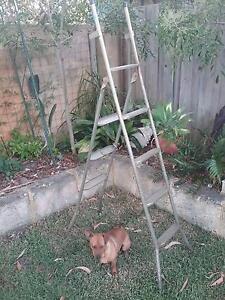Folding metal ladder 175cm to 260cm Wembley Cambridge Area Preview
