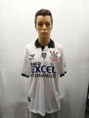 Rare Corinthians 1997 Penalty Football Soccer Shirt Jersey Brazil XL FPF image