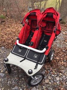 Valco Baby Runabout Tri-mode TWIN stroller