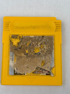 Pokemon Yellow Version: Special Pikachu Edition (Game Boy, 1999) Authentic Works