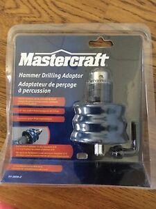 Mastercrafter hammer drilling adapter