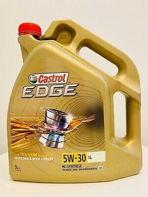 Motoröl Castrol Edge Titanium FST LL 15669E 5W-30 Audi VW LongLife 3 5 Liter 5L, usado comprar usado  Enviando para Brazil