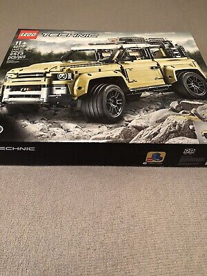 lego technic land rover defender 42110 green 2573 Pieces building toy brand new