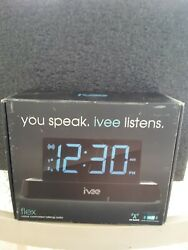 New IVEE Flex Voice Controlled Talking Radio Clock Model: iv2b