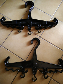 Hangers for wetsuit or BCD