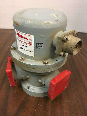 Waveguide Switch 3-port Airtron Litton Pn 890411 Wr112 7ghz To 10ghz