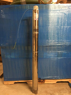 Wilo 3 Submersible Water Well Pump 15 Gpm 1.5 Hp 1 Phase 230 Volt 2 Wiregr