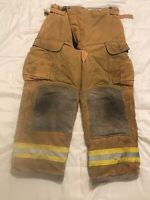 Lion Body Guard Firefighter Turnout Gear Bunker Turnout Pants W Liner 36 X 28