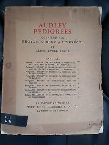 AUDLEY-PEDIGREES-Part-I-Compiled-for-George-Audley-of-Liverpool-Circa-1929