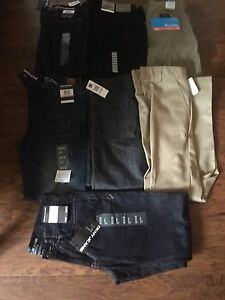 Brand New Men's Jeans & Pants 7 Pairs 32X32