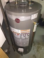 Same day Hot water tank replacement for less!
