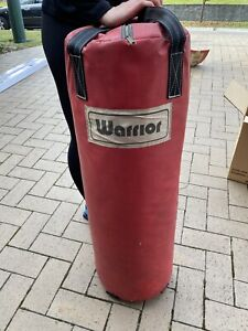Warrior boxing punching bag training bag