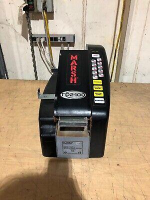 Marsh Td2100 Manual Paper Gum Tape Dispenser Power On N.f.t.