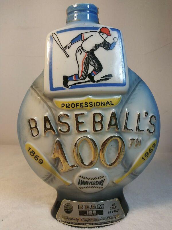 Vintage 1969 Jim Beam Baseball