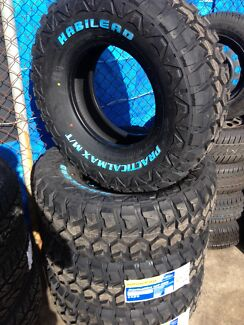 285/75 R16 M/T. brand new tyres