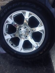 "20"" Dodge Ram wheels and tires"