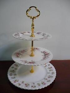 ROYAL ALBERT 3 TIERED HIGH TEA Plates Prices Vary Balga Stirling Area Preview