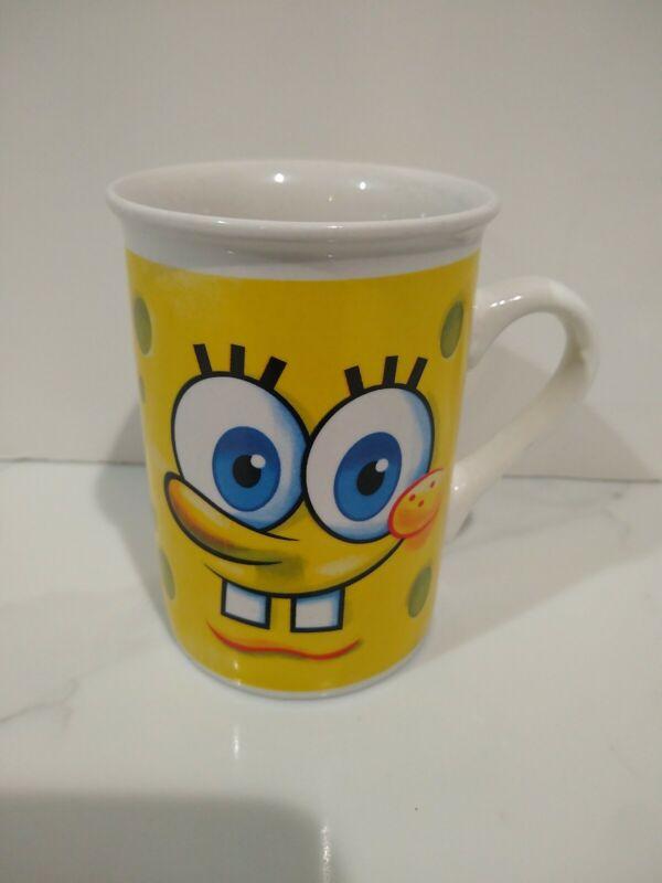 Sponge Bob Squarepants Coffee Cup Mug 2011 Viacom