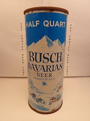 Busch Bavarian 16Oz Flat Top Beer Can Like  227 15  Tampa Florida  4 City