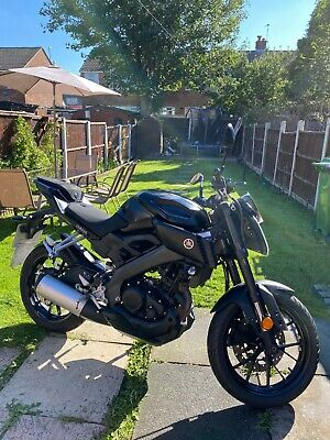 Yamaha MT 125 ABS Naked Motorbike (MT 125, MT125, CBT, 125cc, manual) 2017