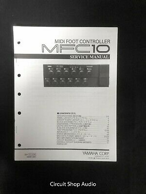 Original Yamaha / MFC10 MIDI Foot Controller / Service Manual for sale  Shipping to India