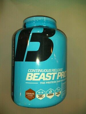 Beast Sport Nutrition Protein Muscle Support Chocolate Flavor (4lb)