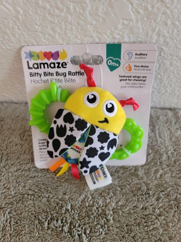 Lamaze Bitty Bite Bug Rattle - BRAND NEW