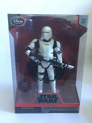 Star Wars Disney Elite Series First Order Flametrooper Die Cast Figure BNIB