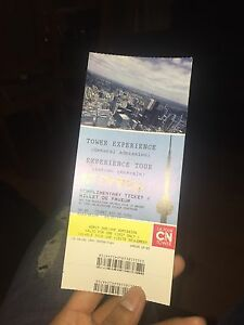 CN tower adult ticket for sale
