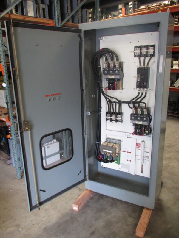 Allen Bradley 1790-842-1 Reversing Size 5 Starter 509-FOD 200HP Bypass Contactor