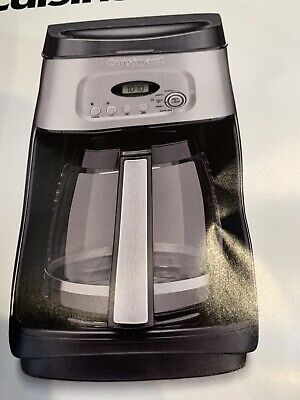 New Cuisinart Coffee Maker 14 Cup With Charcoal Water Filter Programmable Digital Filter Coffee Maker