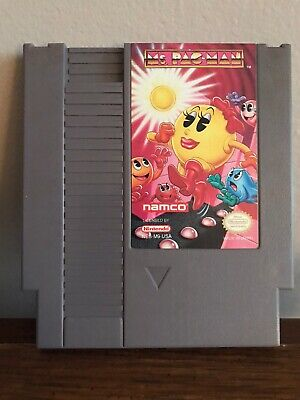 Ms. Pac-Man - (Nintendo Entertainment System NES) Game Only - Namco