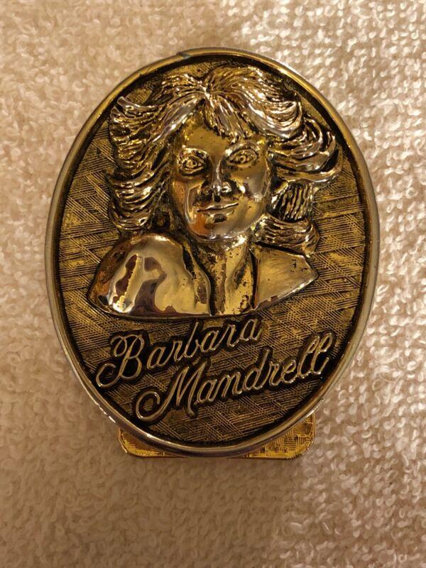 Vintage 1980s BARBARA MANDRELL Money Clip - Nashville Souvenir Collectible