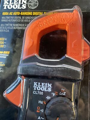 Nib Klein Tools Cl700 600a Ac Auto Ranging Digital Clamp Meter