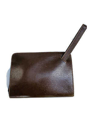Vintage Gucci Leather Clutch bag Men or Women