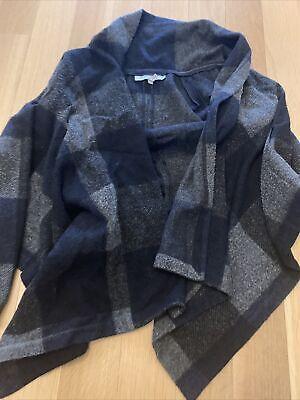 morgane le fay Plaid swing knit jacket Size Large
