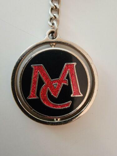 Black Pink Glitter Mariah Carey MC Butterfly Spinner Keychain Las Vegas Merch - $24.99