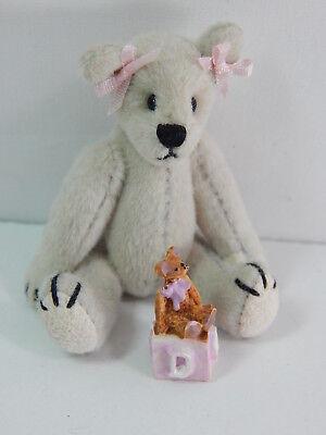 "World of Miniature Bears 2.5"" Cashmere Bear Bear's Toy #5368A"