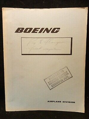 Vintage Boeing 737 Maintenance Manual - Service Training Aids Fuel Systems